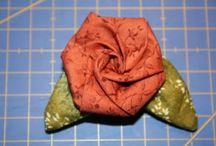 Folded fabric ideas