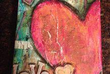 schilderen  - hart