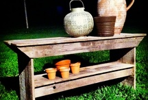 Lawn and Garden reclaimed wood projects