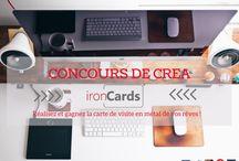 Concours / Concours de créa ironCards !