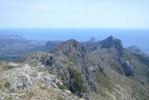 Sierra de Bernia / La Sierra de Bernia es un conjunto montañoso perteneciente a las Cordilleras Béticas, en la provincia de Alicante. Se extiende unos 11 km, perpendicularmente a la costa mediterránea. La sierra tiene una extensión de 1.900 hectáreas, repartidas entre los municipios de Callosa de Ensarriá, Altea, Calpe, Benissa y Xaló. La cima más elevada de la sierra de Bernia –que es utilizada como vértice geodésico– se encuentra en el término municipal de Xaló, y mide 1.128 metros sobre el nivel del mar.
