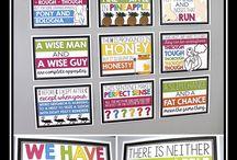 School notice boards