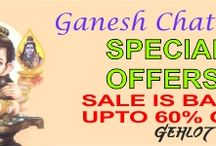 GANESH CHATURTI SALE / HURRY GANPATI BAPPA HAS BROUGHT MANY OFFERS ......... Discount Upto 60% on all products ........... Hurry visit www.gehlotheena.com