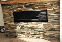 Fireplace Tile Cleaning