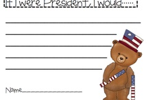 Teach-presidents day / by Mary Buell