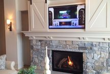 Fireplaces / Oh, the weather outside is frightful...