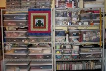 Quilting Studios and Organization / by Michele Foster