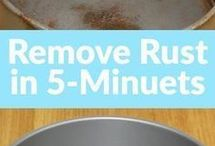 remove rust on 5 minutes