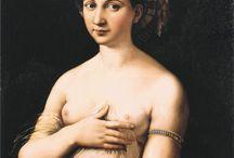 La Fornarina di Raffaello, 1519 / Raffaello Sanzio (1483-1520)