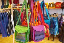 Skye Batiks Bags & Accessories / Our handmade Skye Batiks bags.