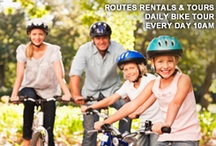 Routes #ABQ #Bike #Tours / Routes offers unique, safe and fun bicycle and snowshoes tours throughout Albuquerque, Santa Fe and the surrounding areas.  Come experience a tour that is uniquely ABQ! http://www.routesrentals.com