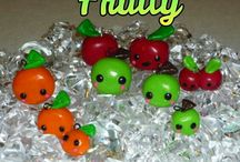 My polymer clay creations / Handmade polymer clay charms by me.