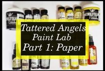 Tattered Angels Paint Lab Videos