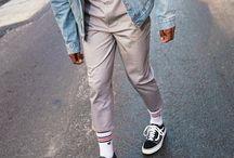 Vintage men outfits