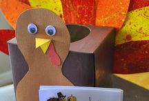 Thanksgiving/Fall crafts / by Amy Nail Murphy
