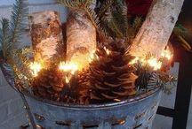 Weihnachtsdekorationen Für Veranda