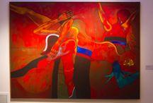 Deira, más allá de la otra figuración. / Muestra del artista argentino Ernesto Deira en el Museo de Artes Visuales.