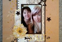stampin up scrapbook layouts / by Tammey Tilton