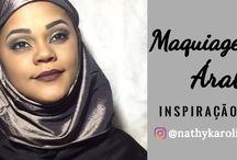 Maquiagem Árabe inspiração