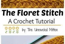 Crochet Stitch Tutorials / A collection of crochet stitch tutorial videos, Crochet tutorial step by step instructions, crochet photo tutorials, and a plethora of crochet stitch patterns, including gorgeous crochet texture stitch patterns, crochet stitch charts, and even some miscellaneous crochet tips and tricks!