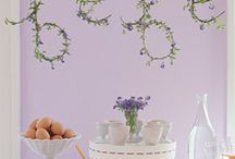 "French Baby shower / My theme is ""French country"" with my stand out colours being lavender and white."