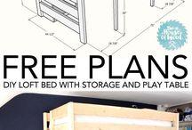 Proyectos de Bricolaje / Ideas, planos, guías y proyectos para la fabricción de muebles de madera