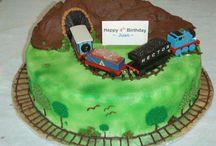 Thomas engine cake.