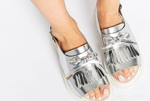 TREND METALLIC Plus White / Weiss plus Metallic Fashion Accessoires