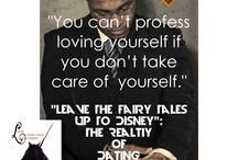 "Quotes from ""Leave The Fairy Tales Up To Disney"": The Reality of Dating / Full circle. All three in one. Embark on this journey through love and life, in this compilation of the good, the bad and the ugly of dating. Whether you're single, dating, married, or getting married again; use this series to gain pointers, not to life, but to your destiny. As Prosperity U. LLC unites the series including ""Leave The Fairy Tales Up To Disney"", ""Rebounding The Right Way"", and ""Why Should I Get Married?"", feel a force like never before."