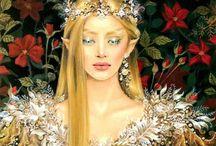 ДЕВУШКИ ФЭНТАЗИ / Самые невероятные и красивые фантазийные девушки....