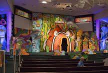 Ocean Commotion Set and Drama / Decorate your VBS set with underwater themes!