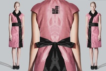 KAY MUTO collection examples in silk / colorful silk ,wildsilk, dupioni  Collection of KAY MUTO BERLIN