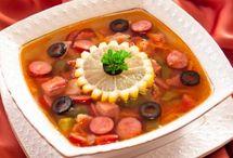 рассольники,супы,солянки