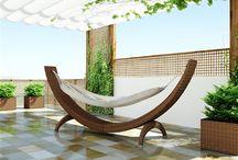 Zahradní houpací síť z umělého ratanu Siesta / Pohodlná houpací síť SIESTA z oblého umělého ratanu Vám umožní dokonalý odpočinek na zahradě, terase, u bazénu.  Má bezpečnou a stabilní konstrukci. Nosnost do l5O kg.