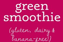 Smoothies or juices