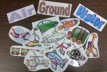 Preschool Ideas-Transporation