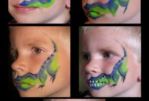 face painting / by Christine Tangerine