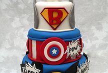 Torta super eroi