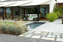 Outdoor | Paving, pebbles and decks