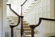 Beautiful staircases & entries