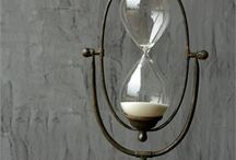 Globes and hourglasses