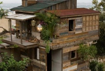 Treehouses and Earthships - things I would like to live in....