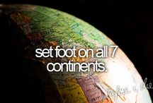 Bucket list / What i want to do in my life❤️
