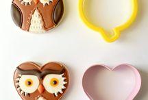 Coruja cookies