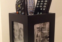 remote control holders or containers