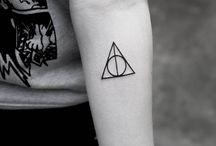 Deathly hallows tatto