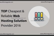 reliable and cheapest hosting provider.