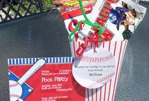 baseball party ideas / by Sonja Hughes-Curtis