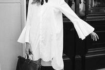 Crisp WHITE / Just shirts.
