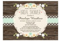 Eclectic BOHO Bridal Shower / Beautiful, eclectic  Bohemian bridal shower ideas and invitations for the BOHO bride and groom.  Whimsical fun floral designs along with chic hippie style ideas for decorations and food. Visit us at www.seasonalshowers.com